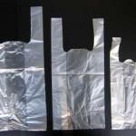ถุงหูหิ้ว ขาวใส clear shopping bags