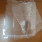 ถุงแก้ว+ฝากาว OPP bags with lip glue