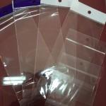 ถุงแก้วหัวมุก + ฝากาว storage bags with lip glue
